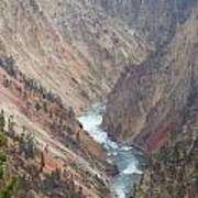 Grand Canyon At Yellowstone Poster