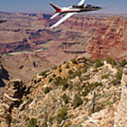 Grand Canyon Fly By-1 Poster