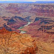 Grand Canyon Nationa Park Painting Poster