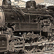 Grand Canyon Railroad Locomotive Poster