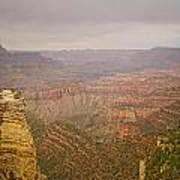 Grand Canyon Scenic Overlook View Poster