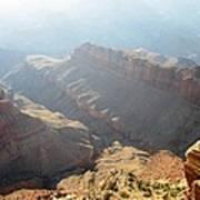 Grand Canyon Sunbeams Poster