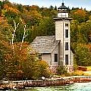 Grand Island Lighthouse No.1442 Poster