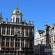 Grand Place Buildings Poster