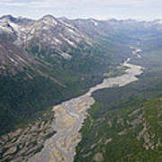 Granite Creek In The Chugach Mountains Poster