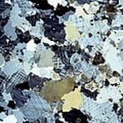 Granite Rock, Light Micrograph Poster