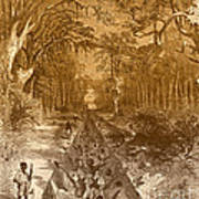 Grants Canal, 1862 Poster