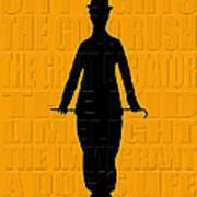 Graphic Chaplin Poster