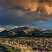 Great Basin Cloud Poster