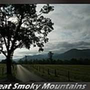Great Smoky Mountains National Park 3 Poster
