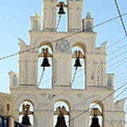 Greek Church Bells Poster