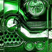 Green Chrome Poster