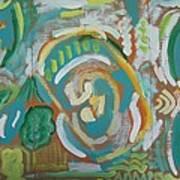 Green Poster by Jay Manne-Crusoe