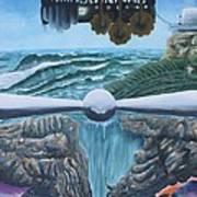 Green Machine Zero Poster by Jeremy Brewer