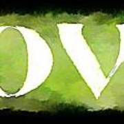 Green With Love Poster