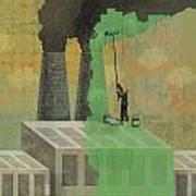 Greenwashing Poster
