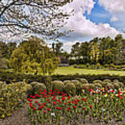 Grounds At Leeds Castle  Poster
