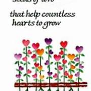 Growing Hearts Poster