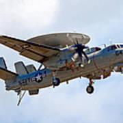 Grumman E-2 Hawkeye Poster