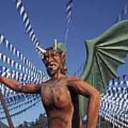 Guatemala Winged Devil Poster