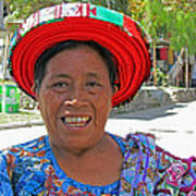 Guatemalan Village Woman Poster