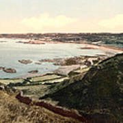 Guernsey - Rocquaine Bay - Channel Islands - England Poster