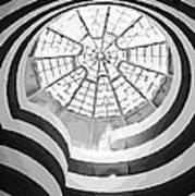 Guggenheim Museum Bw16 Poster