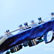 Guitar Abstract 5 Poster