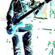 Guitarrist Poster by David Alvarez