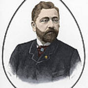 Gustave Eiffel, French Architect Poster