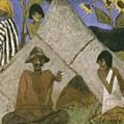 Gypsy Encampment Poster