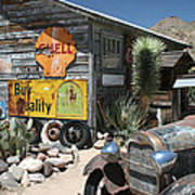 Hackberry Signs   Arizona Route 66 Poster