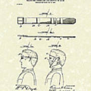 Hair Growth System 1903 Patent Art Poster