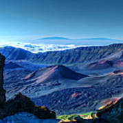 Haleakala Crater 1 Poster by Ken Smith
