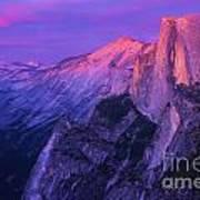 Half Purple Dome Poster