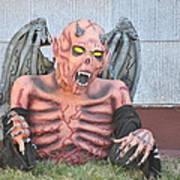Halloween In Alameda Poster