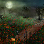 Halloween - One Hallows Eve Poster by Mike Savad
