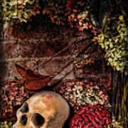 Halloween Still Life Poster by Joan  Minchak
