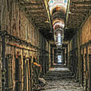 Hallway Eastern State Penitentiary  Poster