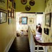 Hallway In Home Of Anna Jarvis Poster