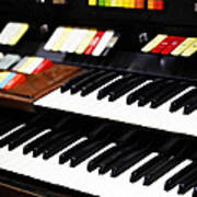 Hammond Electric Organ Poster