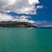 Hanalei Bay Kauai Poster