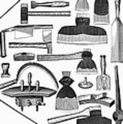 Hand Tools, 1876 Poster