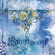 Happy Birthday - Card Design Poster