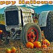 Happy Halloween Card Poster
