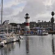 Harbor Lighthouse Poster