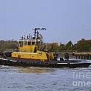 Harbor Tug Savannah Poster
