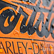 Harley Davidson Logo Poster