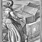 Harpsichord, 1723 Poster