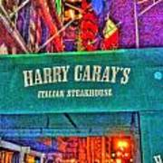 Harry Caray's Poster